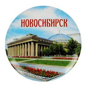 Значок закатной 'Новосибирск' Ош