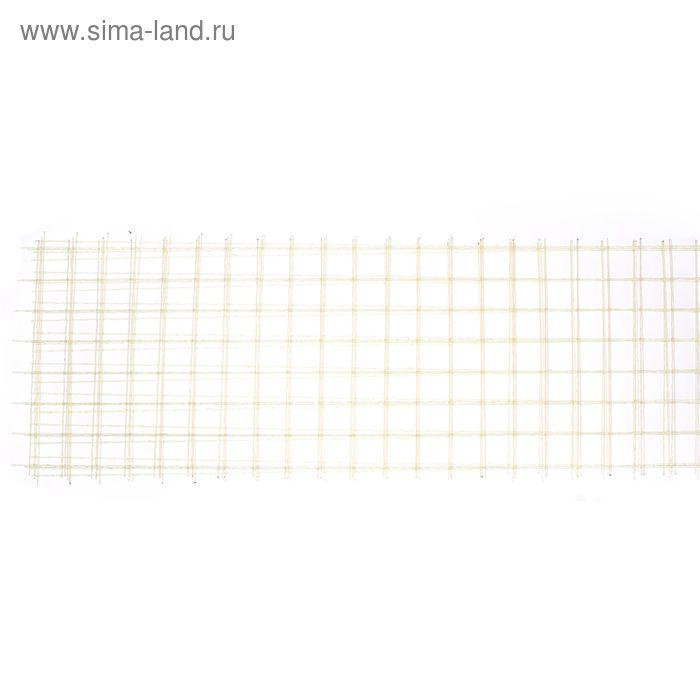 Сетка кладочная стеклопластиковая диаметр 2,5мм  1500*380 ячейка 50*50