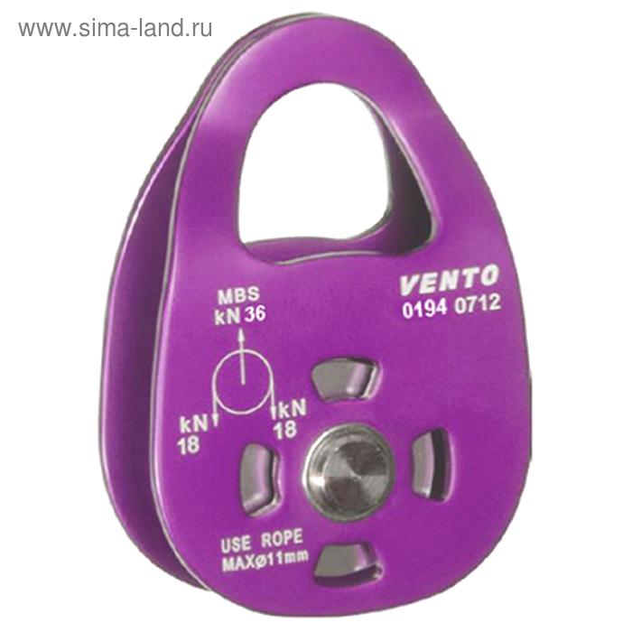 Блок-ролик Венто одинарный «Uno 36»  дюраль с подшипником