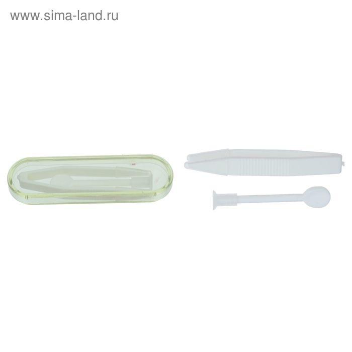 Набор для контактных линз в футляре 3 предмета, МИКС