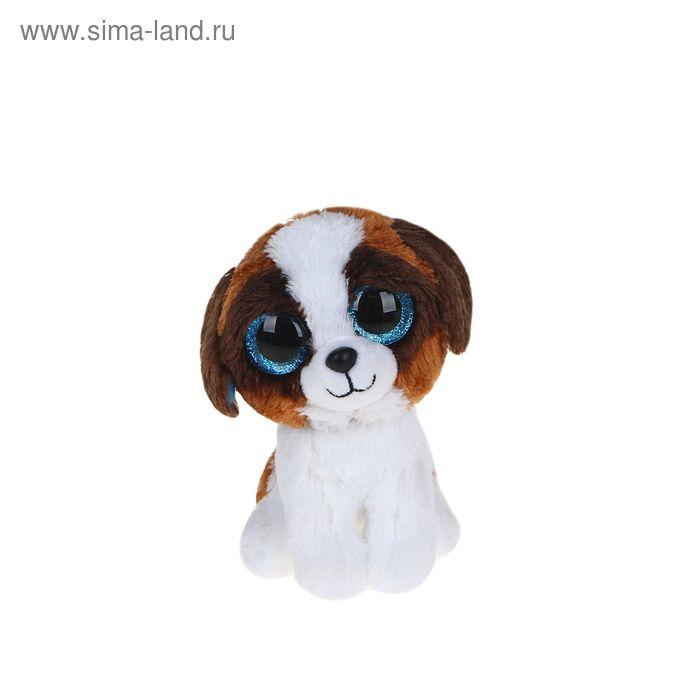 Мягкая игрушка «Щенок Duke», цвет коричневый с белым