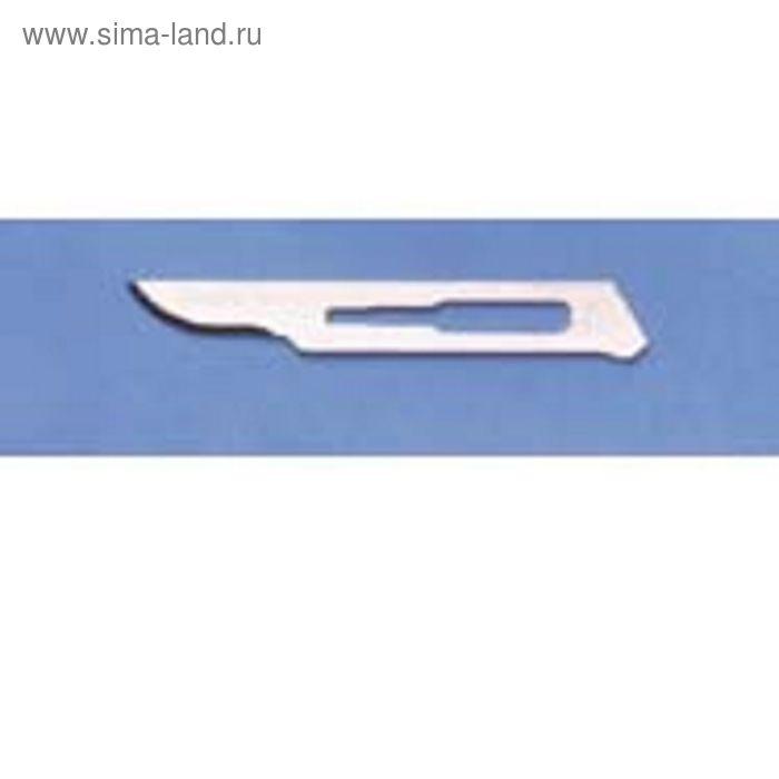Лезвие скальпеля Kruuse №15 из нержавеющей стали 100 шт.