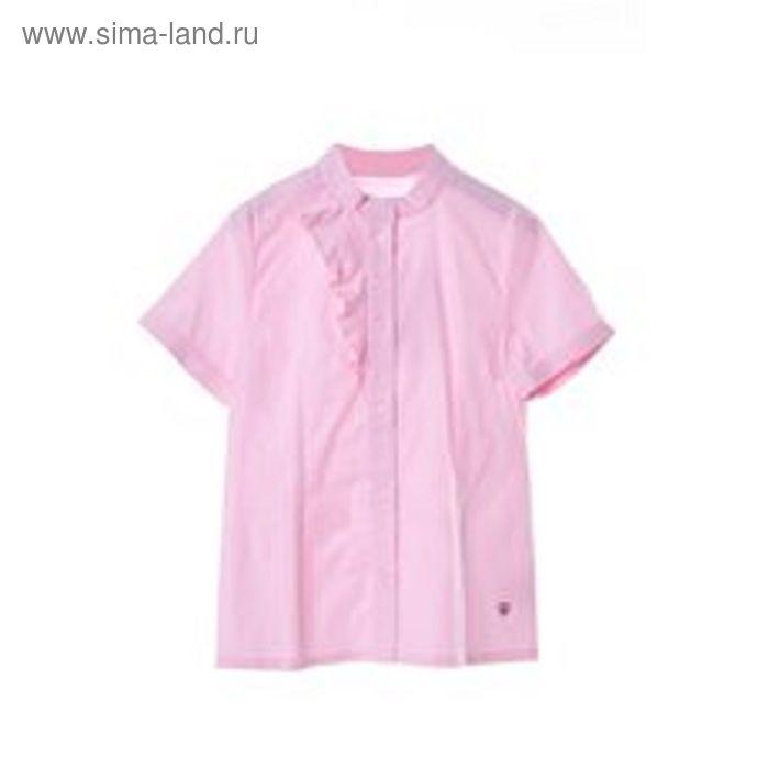 Блузка для девочки, рост 146 см, цвет розовый SC16-11-17-06