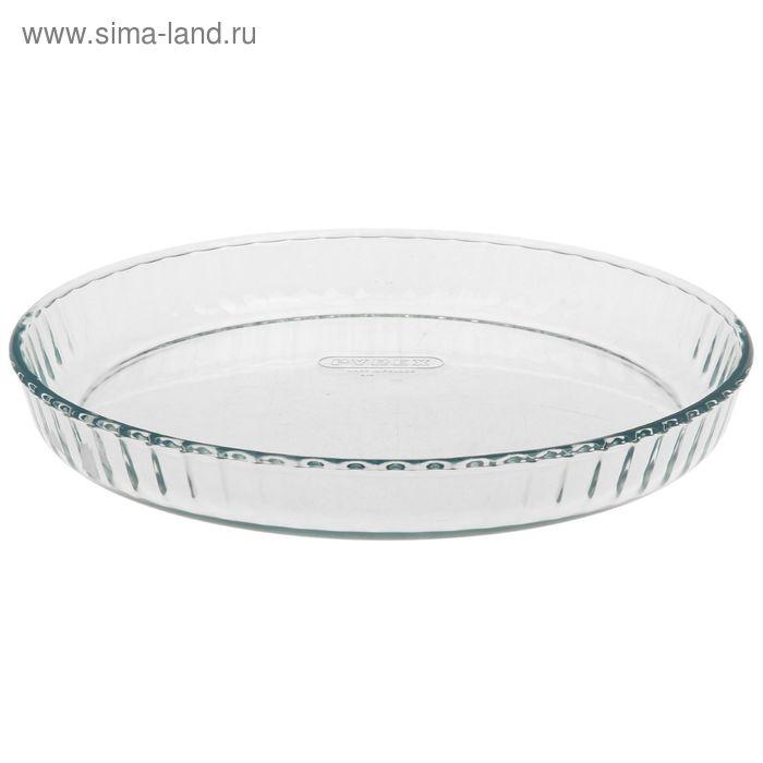 Форма для торта рифленая 30 см Pyrex Classic
