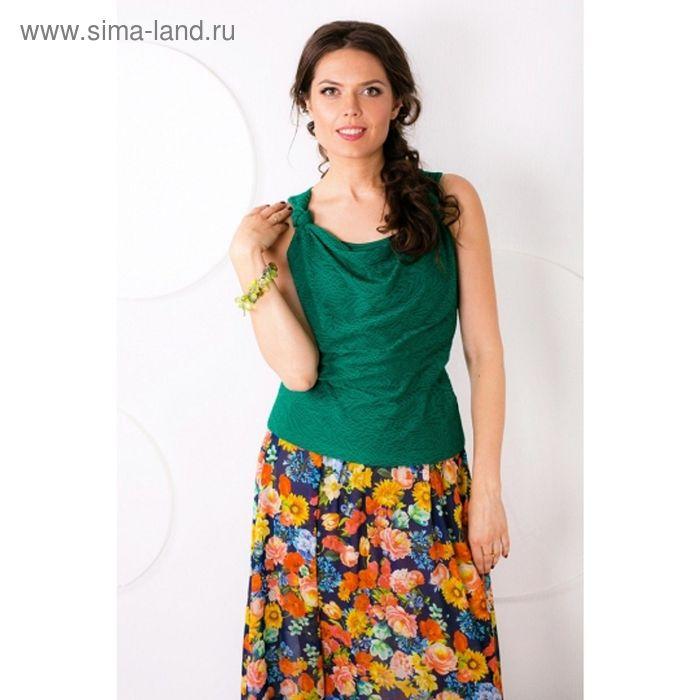 Блуза женская, размер 44, цвет зелёный Б-126