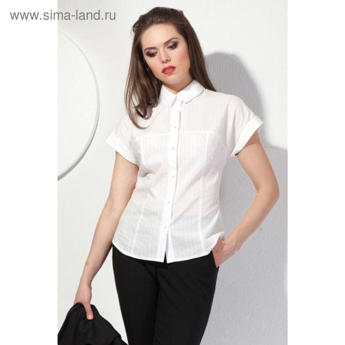 Блуза женская, размер 52, цвет молочный  Б-147