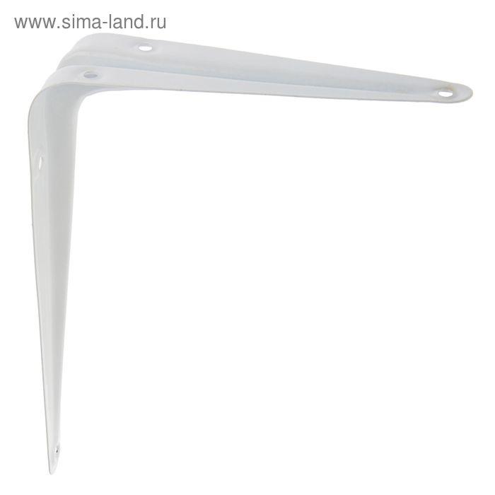 Полкодержатель, 150х125 мм, белый