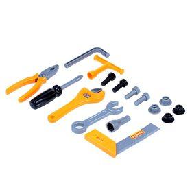 Набор инструментов №12, 17 элементов, в пакете