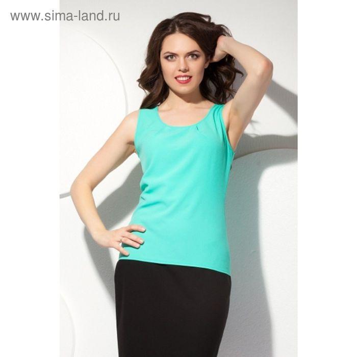 Блуза женская, размер 52, цвет мятный Б-150