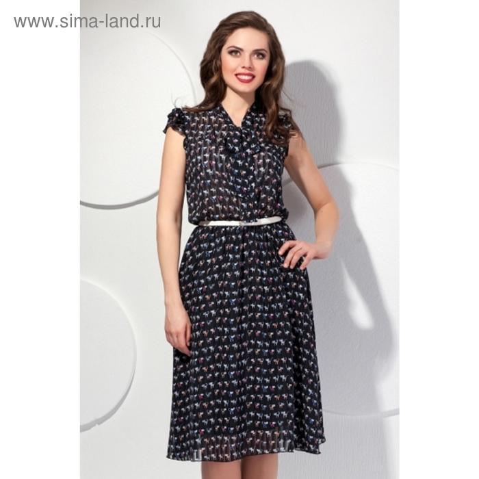 Платье женское, размер 54, цвет чёрный П-357/2