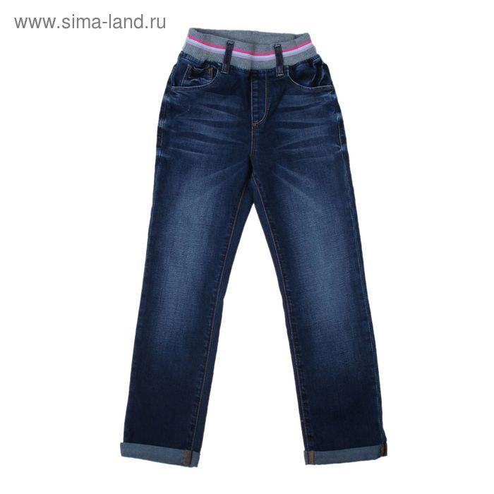 Джинсы для девочки, рост 104 см, цвет синий 2124_Д