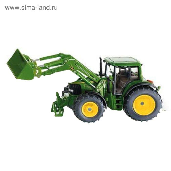 "Трактор Джон Дир с ковшом, зел. (1:32) ""Siku"""