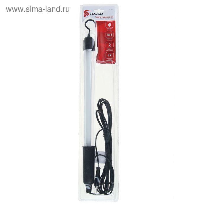 Лампа-переноска люминисцентная TORSO, ТК-135, 220В, вилка