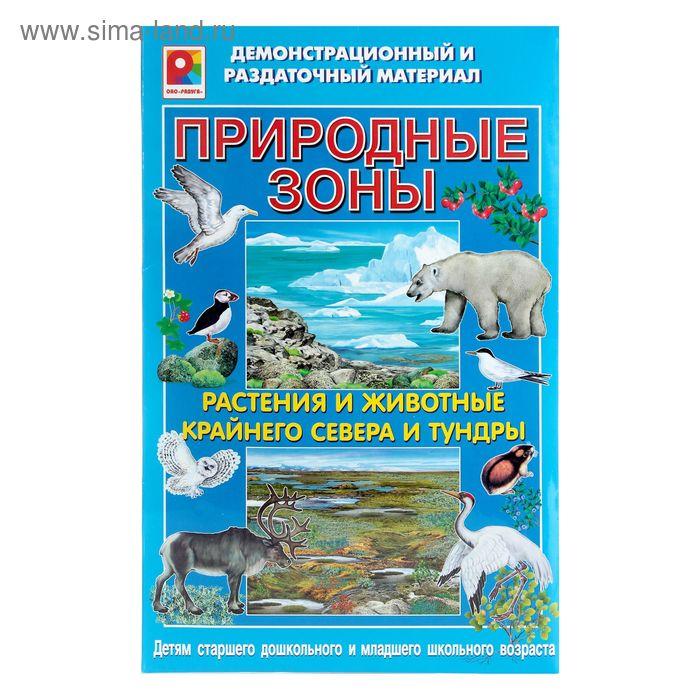 """Демонстрационный материал """"Природные зоны: Север"""""""