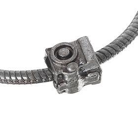 Талисман 'Фотоаппарат', цвет серебро Ош