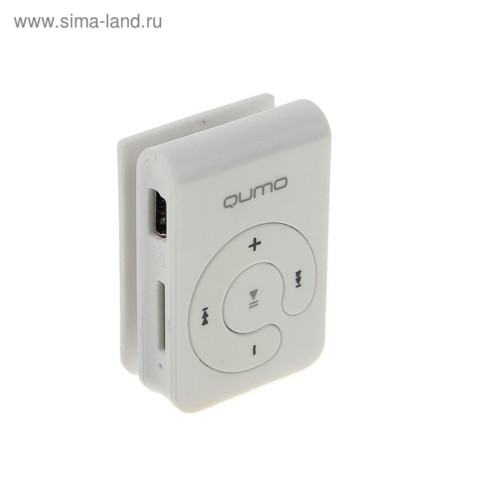MP3 плеер Qumo HIT!, Micro SD до 32 ГБ, белый