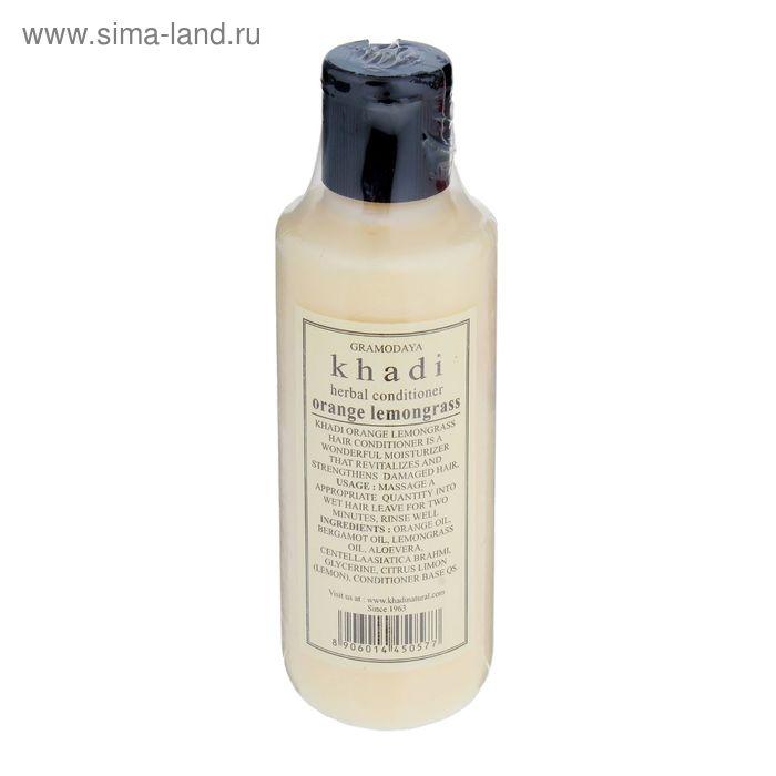 Кондиционер для волос Khadi Natural апельсин, лимонная трава, 210 мл