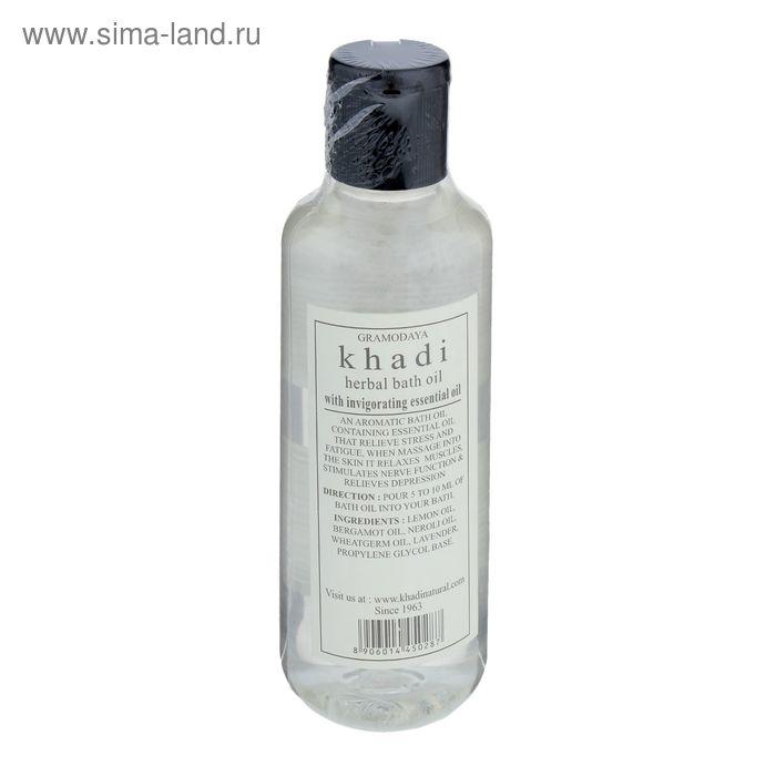 Масло для ванны Khadi энергия трав