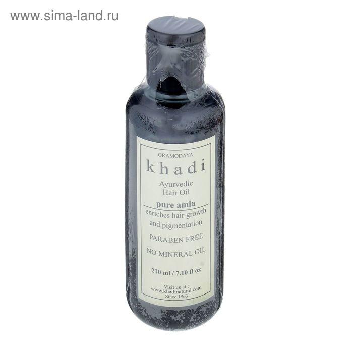 Масло для волос без СЛС Khadi Natural амла, 210 мл