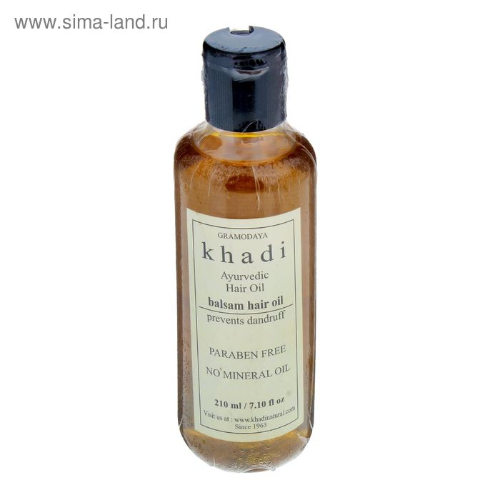 Масло для волос без СЛС Khadi Natural бальзам, 210 мл