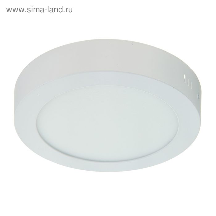 Панель круглая накладная D 170 мм, 12 W, LED-60-2835-840Lm-4000К-120deg-160-260V
