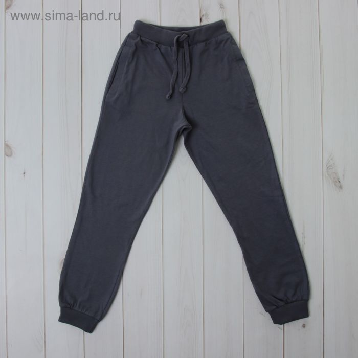 Брюки для мальчика, рост 92 см (52), цвет тёмно-серый (арт. CSK 7505_М)