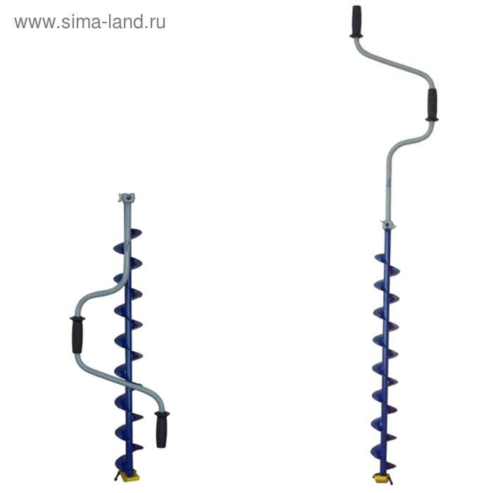 Ледобур двуручный ЛР-100СД спортивный