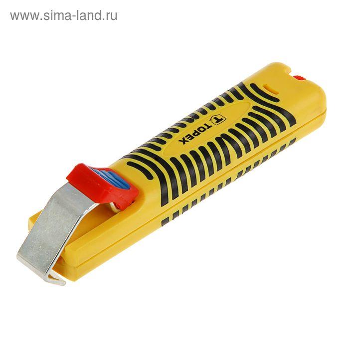 Съемник изоляции с кабелей и проводов TOPEX, 8 - 28 мм