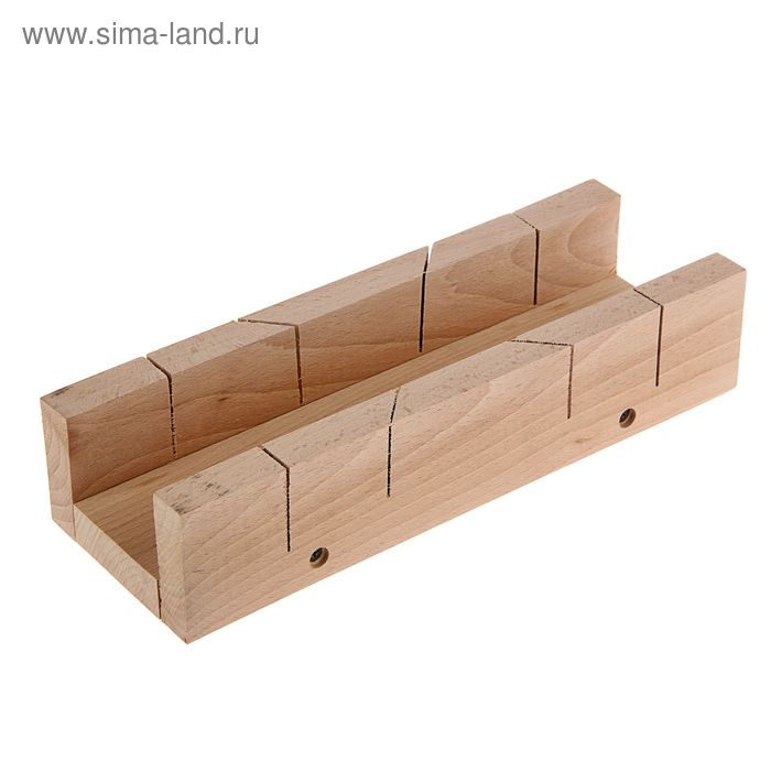 Стусло деревянное TOPEX, 300 x 65 x 60 мм, рабочие углы: 45°, 90°