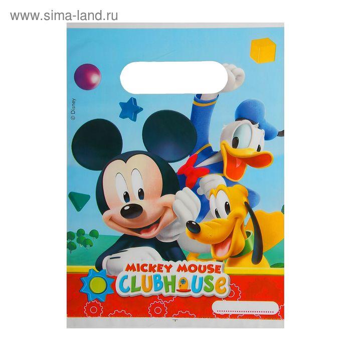 """Пакеты подарочные """"Игривый Микки Маус"""" (набор 6 шт)/ Playful Mickey"""