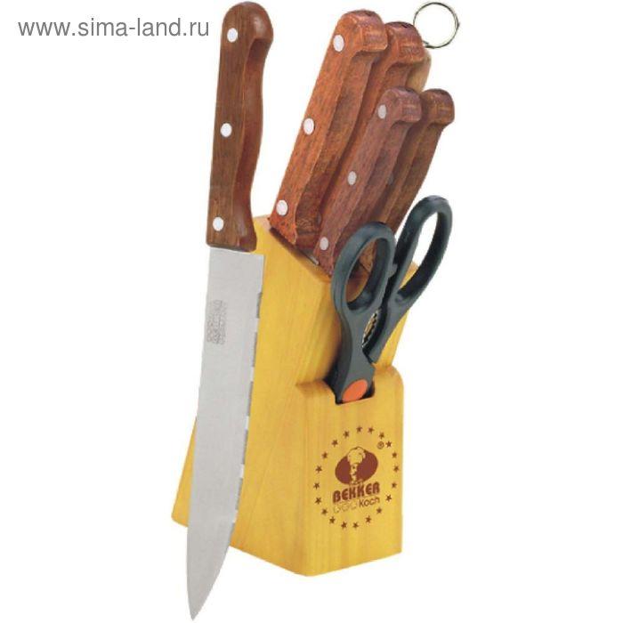 Набор ножей, 7 предметов Bekker
