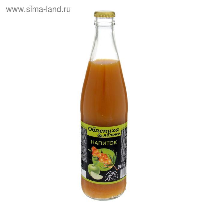 Напиток сокосодержащий облепихово-яблочный ТМ Витамин продукт, 500 мл