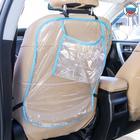 Органайзер на спинку сиденья с карманом для планшета, цвета МИКС