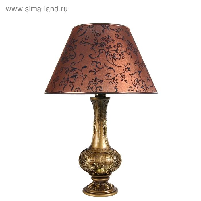 """Настольная лампа """"Египетский"""", коричневый"""