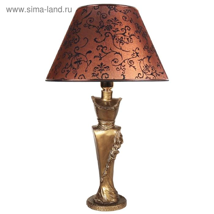 """Настольная лампа """"Леди"""", коричневый"""