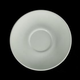 Блюдце чайное 14,7 см, цвет белый Ош
