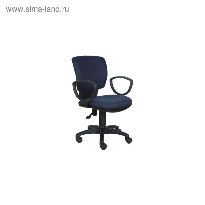 Кресло CH-626AXSN/V-03-1 синий, ромбик черный