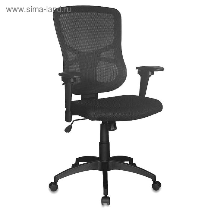 Кресло руководителя CH-888/TW-11/Z1 спинка сетка черный, сиденье черный