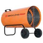 Тепловая пушка NeoClima NPG-40, газовая, 38 кВт, 850 м3/час, 380 м2, пьезоподжиг