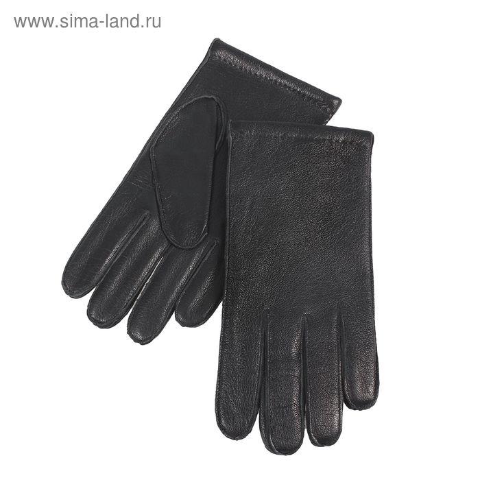 Перчатки мужские, размер 8,5, чёрные