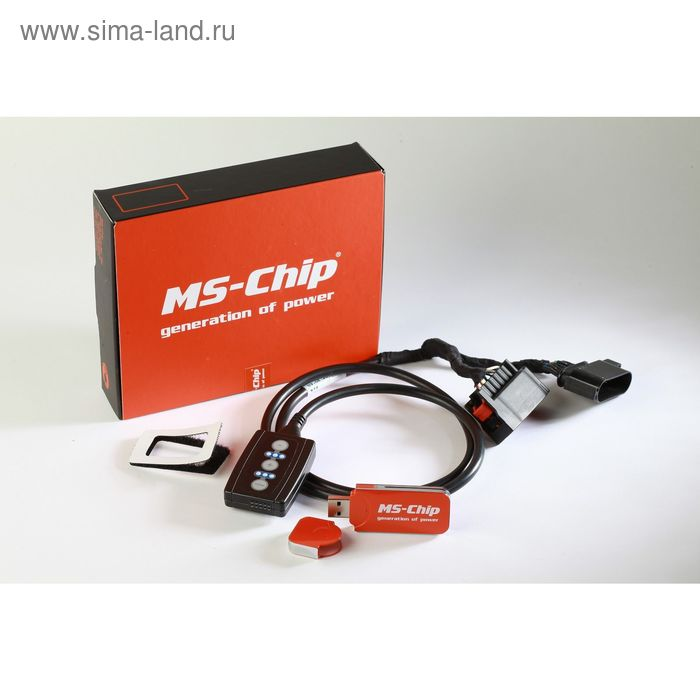 Блок увеличения мощности MS-Chip Speed Boost (VW Touareg(old)), 23714)