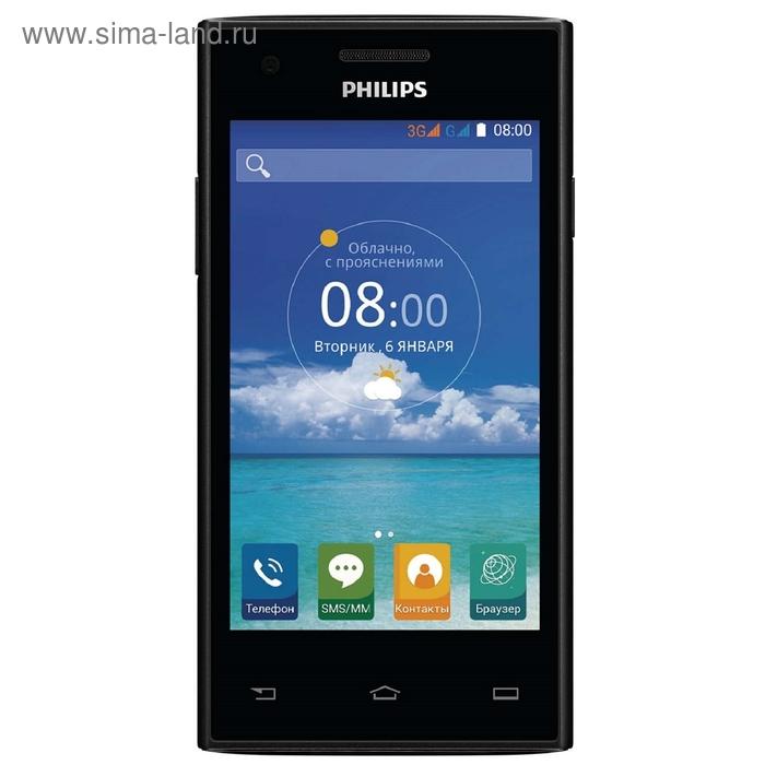 Смартфон Philips S 309, чёрный