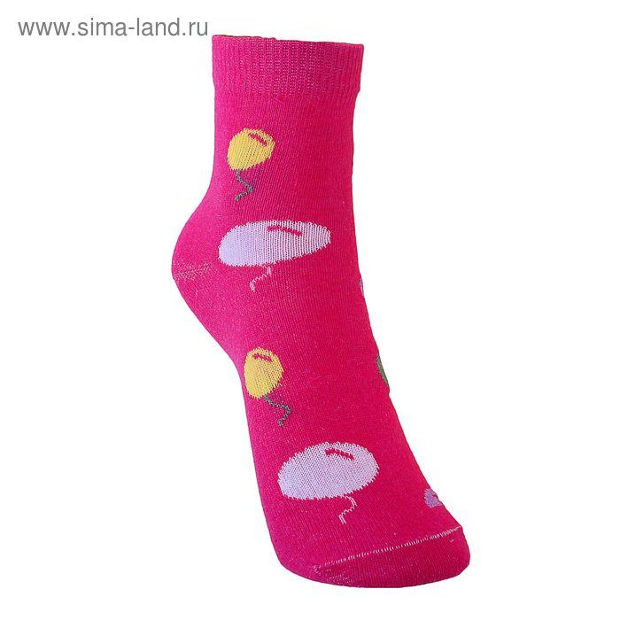 Носки детские 3с12, размер  18(16-18), цвет розовый