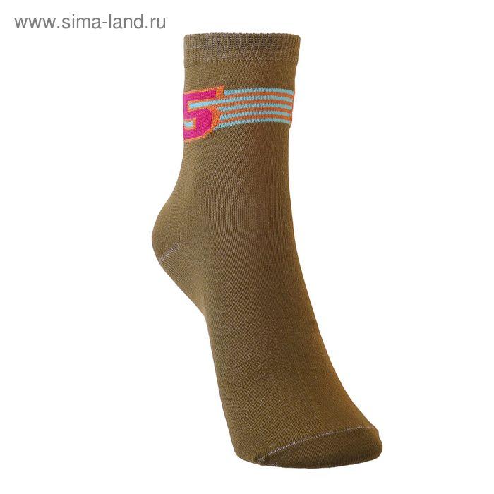 Носки детские 3с14, размер  20(18-20), цвет болотный