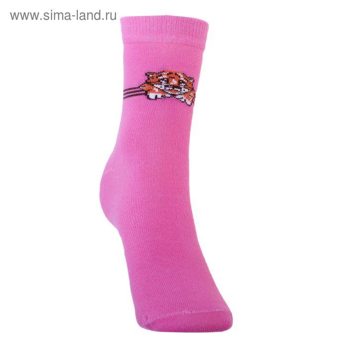 Носки детские 3с14, размер  16(14-16), цвет малиновый