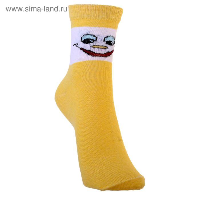 Носки детские 3с14, размер  22(20-22), цвет желтый