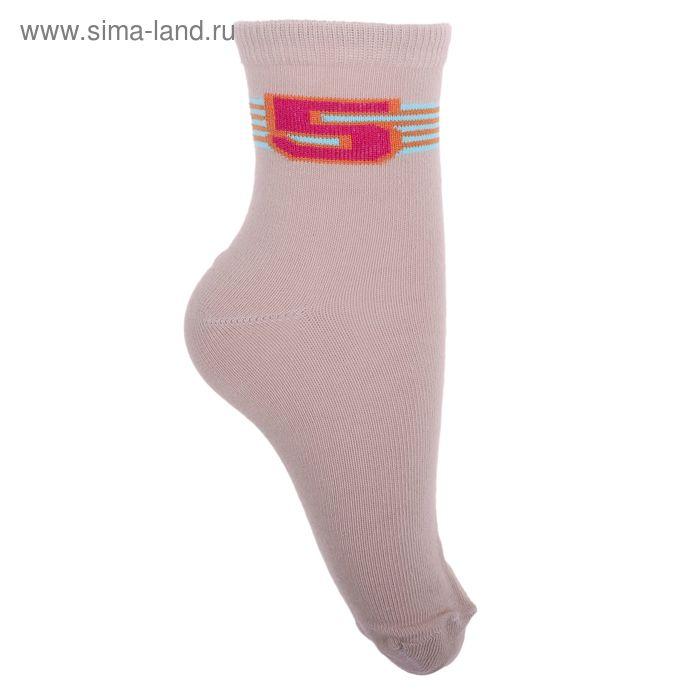 Носки детские 3с14, размер  22(20-22), цвет бежевый