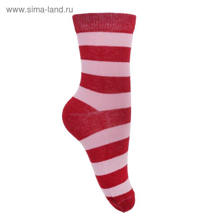 Носки детские 3с13, размер  16(14-16), цвет красный/розовый