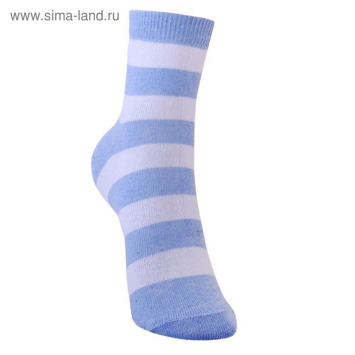 Носки детские 3с13, размер  20(18-20), цвет белый/св.джинс