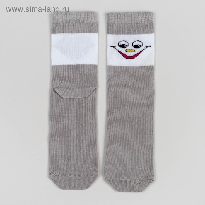 Носки детские 3с14, размер  18(16-18), цвет св.серый